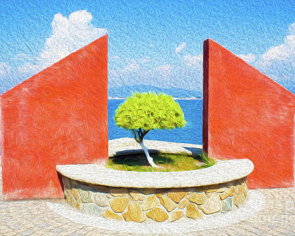 Mexico Poster featuring the digital art Tranquil Surroundings by Kenneth Montgomery