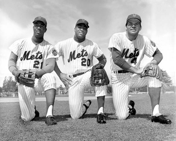 American League Baseball Poster featuring the photograph What Could Be The New York Mets by New York Daily News Archive