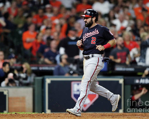 American League Baseball Poster featuring the photograph Adam Eaton by Elsa