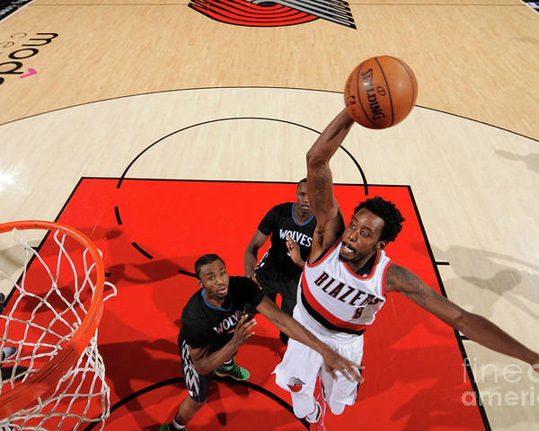 Nba Pro Basketball Poster featuring the photograph Al-farouq Aminu by Cameron Browne