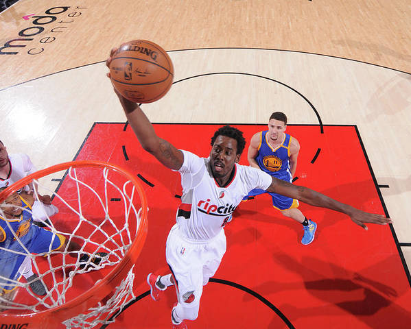 Playoffs Poster featuring the photograph Al-farouq Aminu by Sam Forencich