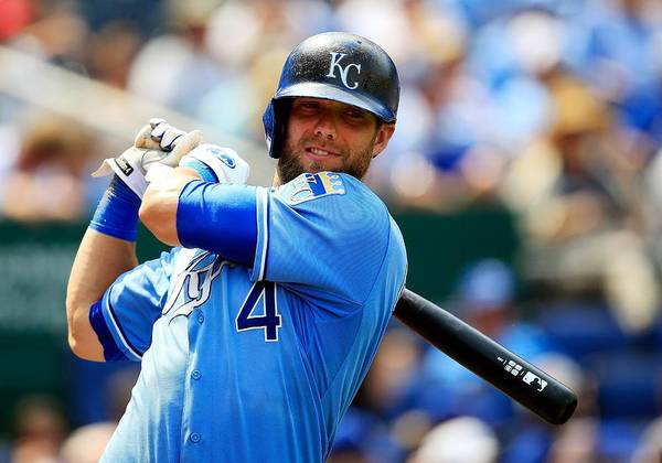 American League Baseball Poster featuring the photograph Alex Gordon by Jamie Squire