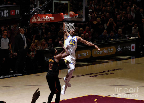 Playoffs Poster featuring the photograph Andre Iguodala by Garrett Ellwood