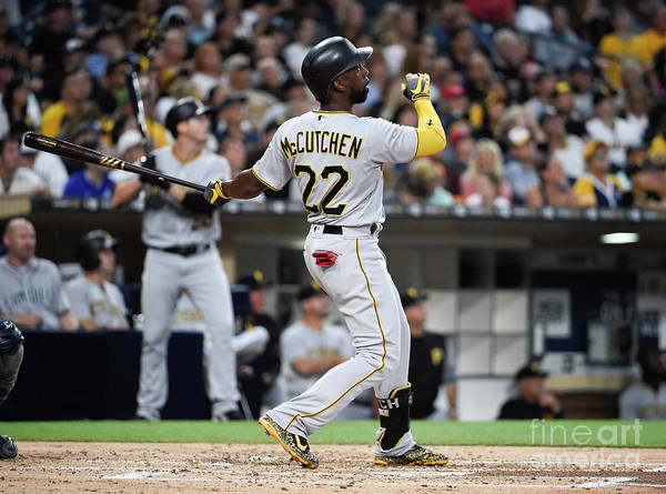 People Poster featuring the photograph Andrew Mccutchen by Denis Poroy