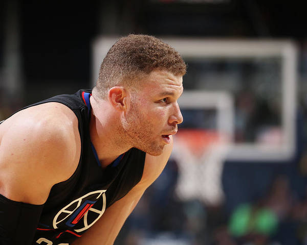 Nba Pro Basketball Poster featuring the photograph Blake Griffin by Joe Murphy
