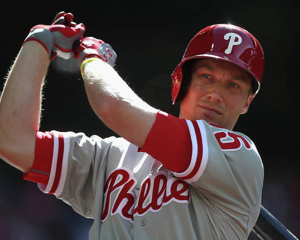 Cody Asche Poster featuring the photograph Cody Asche by Christian Petersen