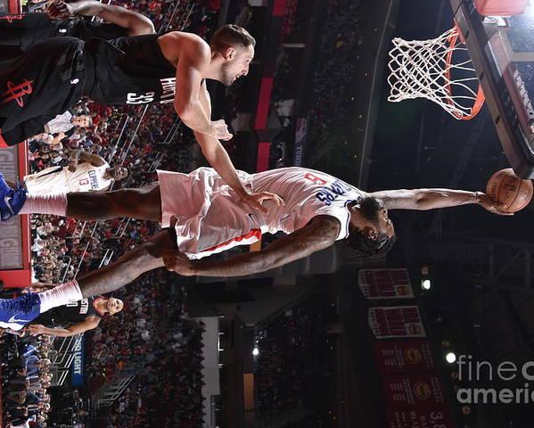 Nba Pro Basketball Poster featuring the photograph Deandre Jordan by Bill Baptist