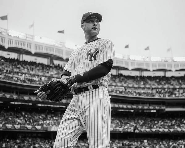 East Poster featuring the photograph Derek Jeter by Rob Tringali