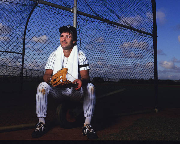 1980-1989 Poster featuring the photograph Don Mattingly by Ronald C. Modra/sports Imagery