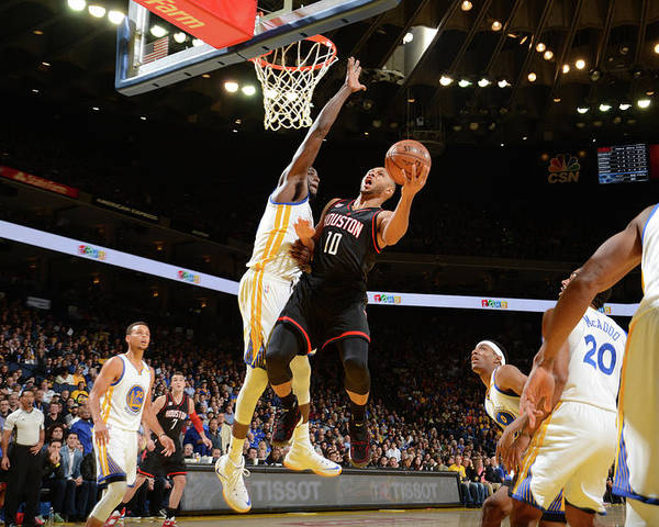 Nba Pro Basketball Poster featuring the photograph Eric Gordon by Noah Graham