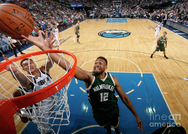 Nba Pro Basketball Poster featuring the photograph Jabari Parker by Glenn James