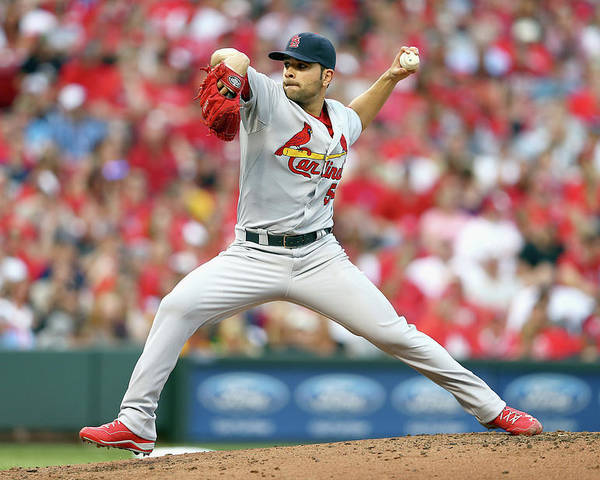 Great American Ball Park Poster featuring the photograph Jaime Garcia by Andy Lyons
