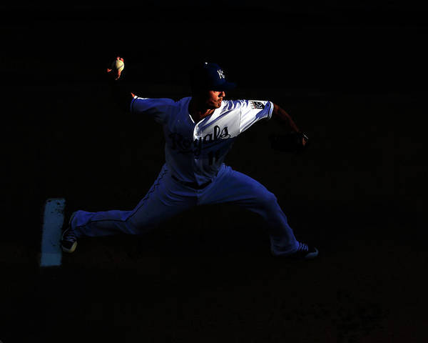 People Poster featuring the photograph Jeremy Guthrie by Jamie Squire