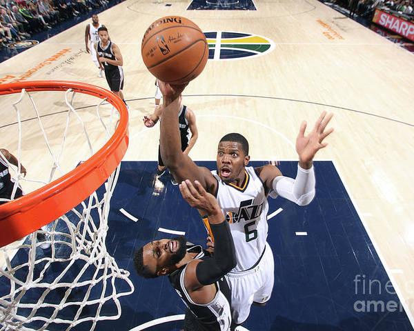 Nba Pro Basketball Poster featuring the photograph Joe Johnson by Melissa Majchrzak