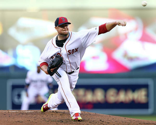 People Poster featuring the photograph Jon Lester by Elsa