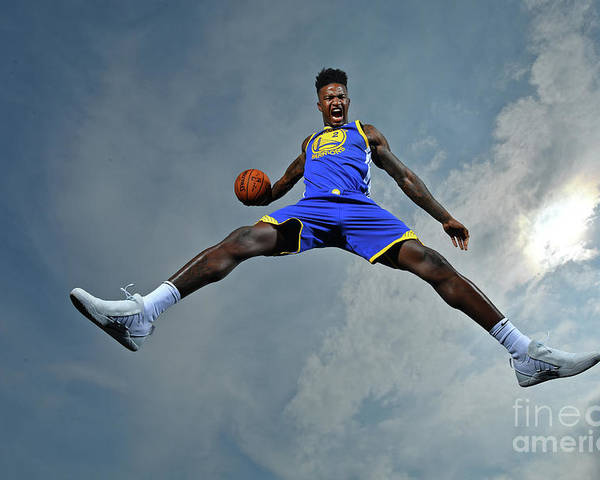 Nba Pro Basketball Poster featuring the photograph Jordan Bell by Jesse D. Garrabrant