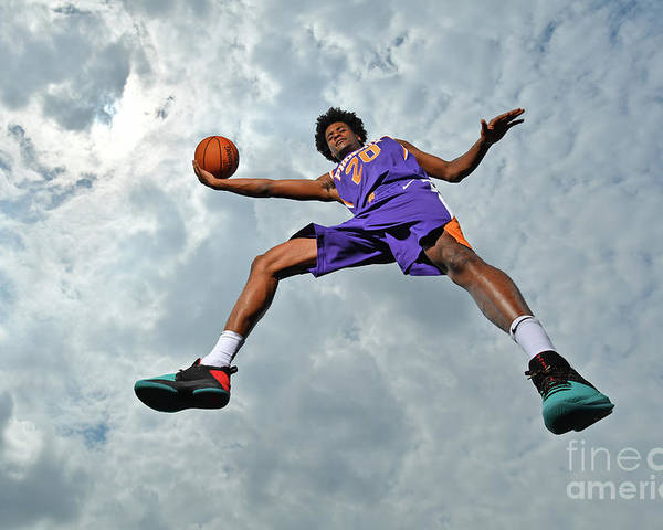 Nba Pro Basketball Poster featuring the photograph Josh Jackson by Jesse D. Garrabrant