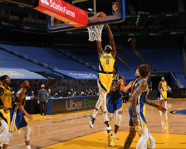 San Francisco Poster featuring the photograph Justin Holiday by Noah Graham
