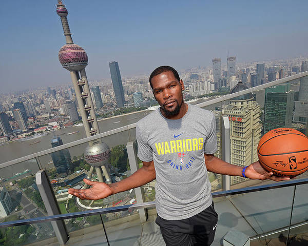 Event Poster featuring the photograph Kevin Durant by David Dow