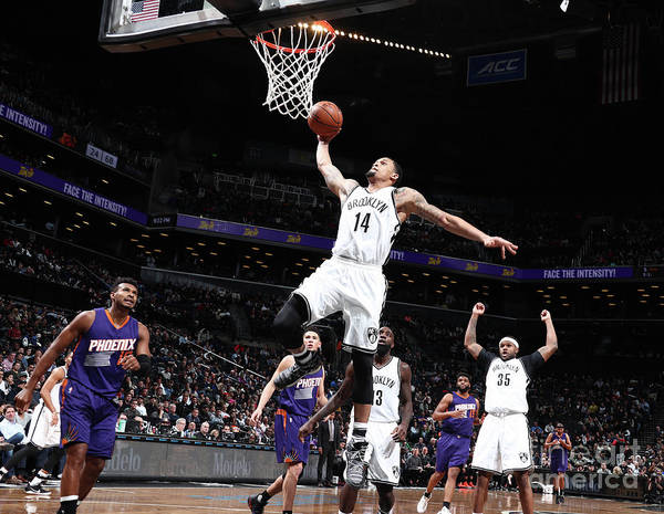 Nba Pro Basketball Poster featuring the photograph K.j. Mcdaniels by Nathaniel S. Butler