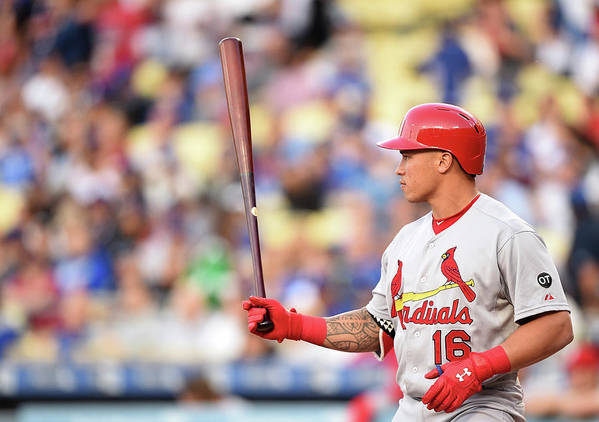 St. Louis Cardinals Poster featuring the photograph Kolten Wong by Harry How
