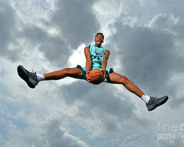 Nba Pro Basketball Poster featuring the photograph Malik Monk by Jesse D. Garrabrant