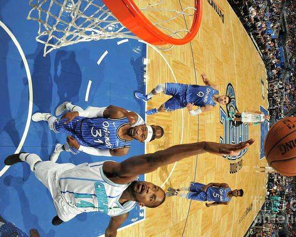 Nba Pro Basketball Poster featuring the photograph Michael Kidd-gilchrist by Fernando Medina