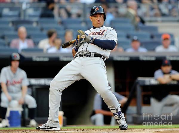 People Poster featuring the photograph Miguel Cabrera by Elsa