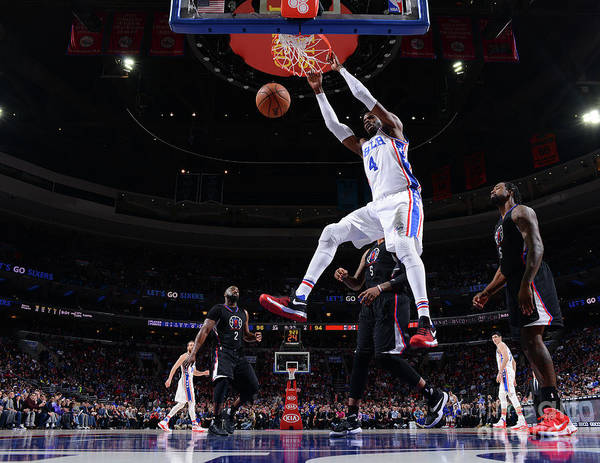 Nba Pro Basketball Poster featuring the photograph Nerlens Noel by Jesse D. Garrabrant