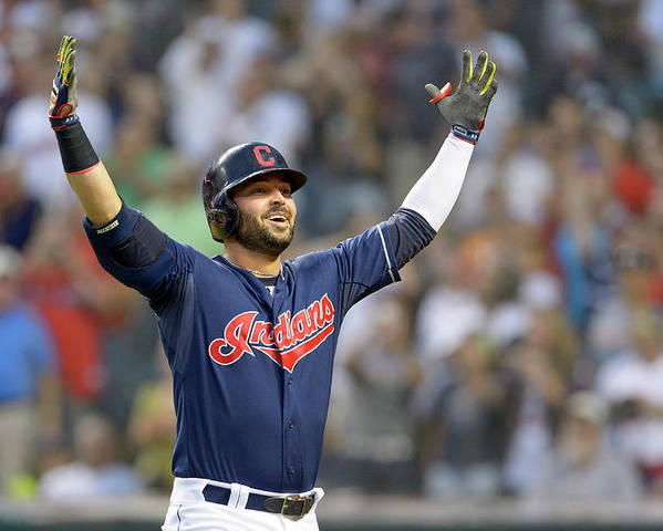 American League Baseball Poster featuring the photograph Nick Swisher by Jason Miller