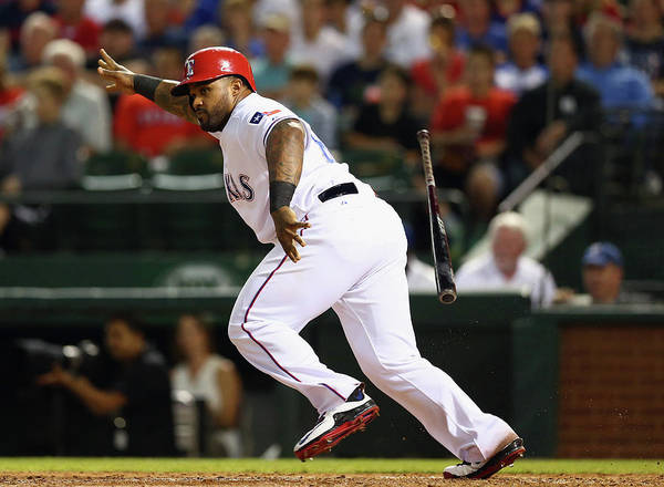 People Poster featuring the photograph Prince Fielder by Ronald Martinez