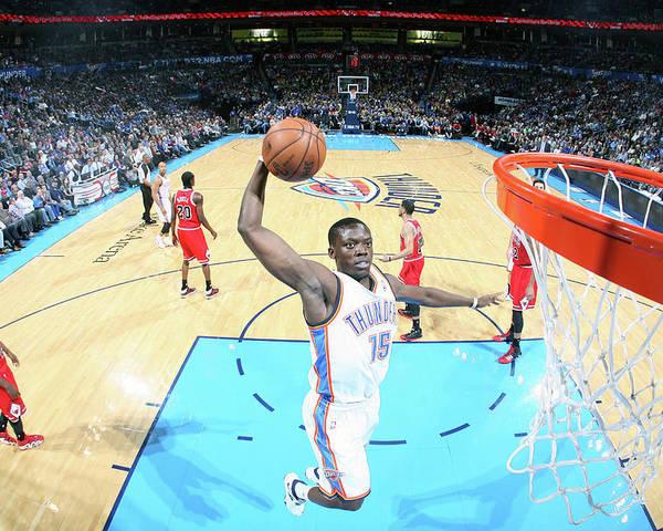 Nba Pro Basketball Poster featuring the photograph Reggie Jackson by Layne Murdoch Jr.