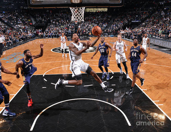 Nba Pro Basketball Poster featuring the photograph Rondae Hollis-jefferson by Jesse D. Garrabrant