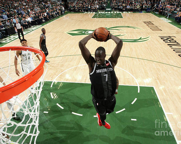Playoffs Poster featuring the photograph Thon Maker by Gary Dineen