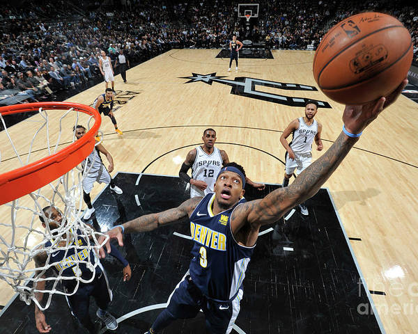 Nba Pro Basketball Poster featuring the photograph Torrey Craig by Mark Sobhani