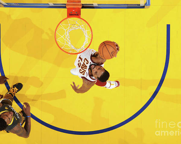 Playoffs Poster featuring the photograph Tristan Thompson by Andrew D. Bernstein