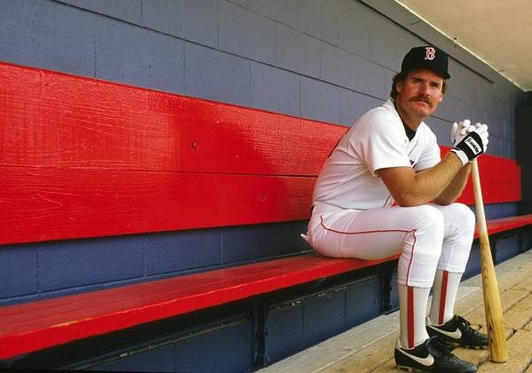 1980-1989 Poster featuring the photograph Wade Boggs by Ronald C. Modra/sports Imagery