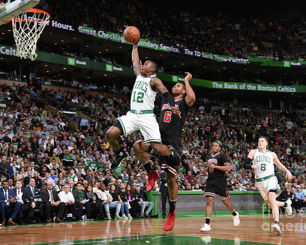 Playoffs Poster featuring the photograph Terry Rozier by Brian Babineau