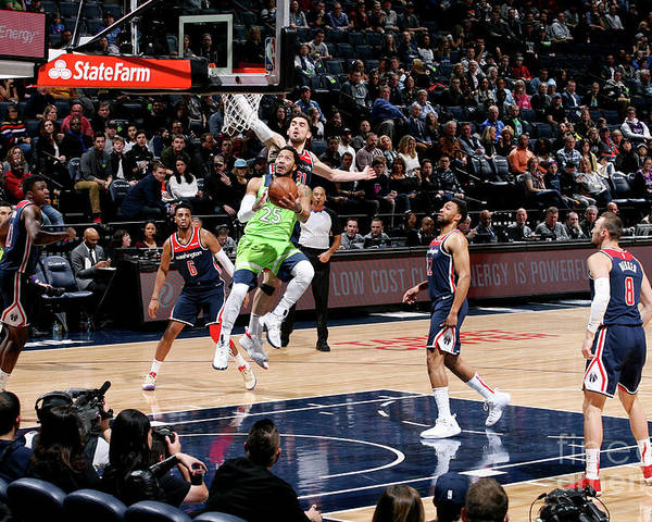 Nba Pro Basketball Poster featuring the photograph Derrick Rose by David Sherman