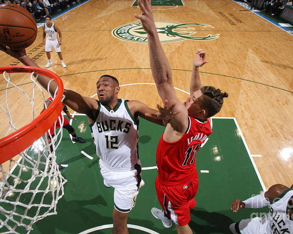 Nba Pro Basketball Poster featuring the photograph Jabari Parker by Gary Dineen