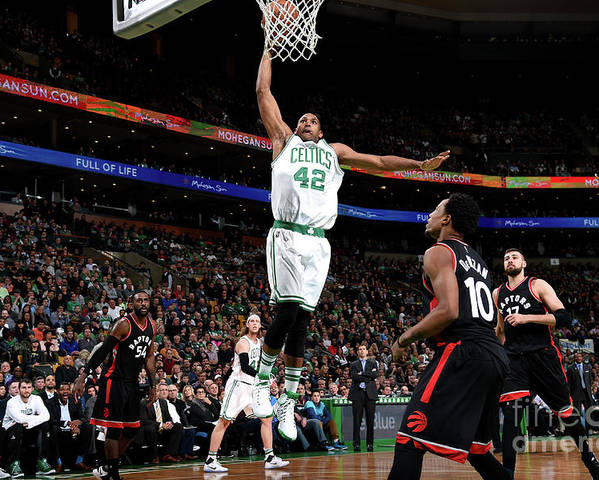 Nba Pro Basketball Poster featuring the photograph Al Horford by Brian Babineau