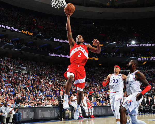 Nba Pro Basketball Poster featuring the photograph Kawhi Leonard by Jesse D. Garrabrant