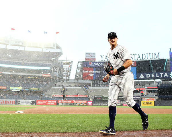 People Poster featuring the photograph Aaron Judge by Elsa