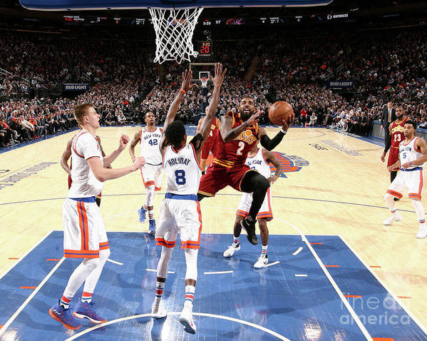 Nba Pro Basketball Poster featuring the photograph Kyrie Irving by Nathaniel S. Butler