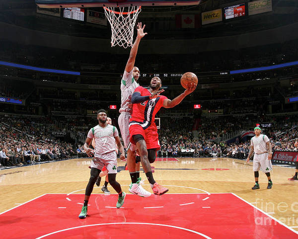 Nba Pro Basketball Poster featuring the photograph John Wall by Ned Dishman
