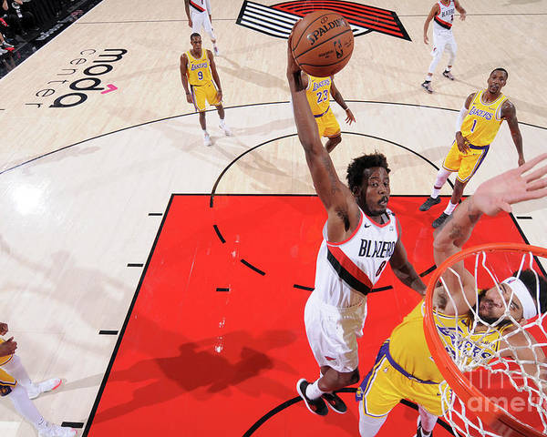 Nba Pro Basketball Poster featuring the photograph Al-farouq Aminu by Sam Forencich