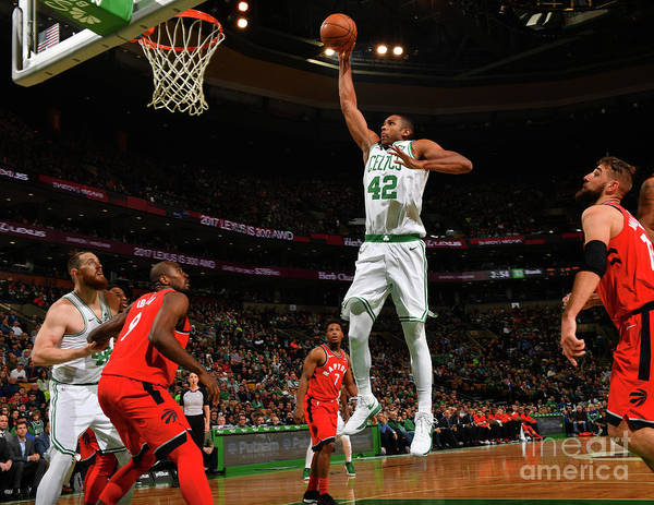 Nba Pro Basketball Poster featuring the photograph Al Horford by Jesse D. Garrabrant