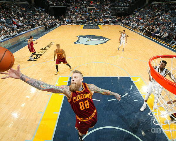 Nba Pro Basketball Poster featuring the photograph Chris Andersen by Joe Murphy