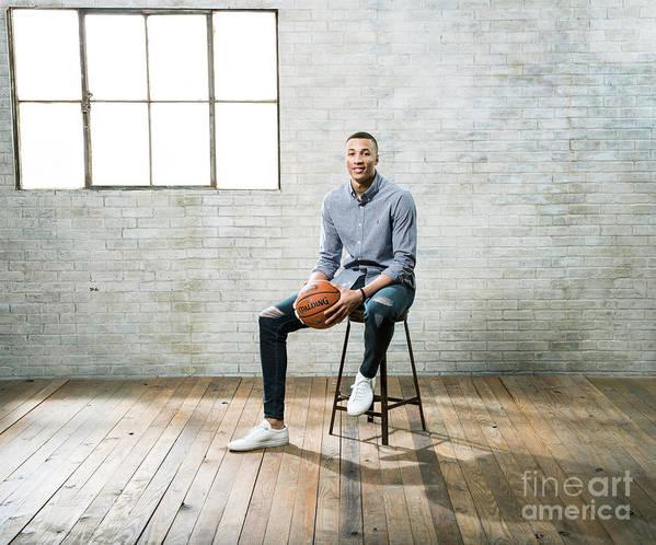 Nba Pro Basketball Poster featuring the photograph Dante Exum by Nathaniel S. Butler