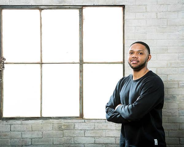 Nba Pro Basketball Poster featuring the photograph Eric Gordon by Nathaniel S. Butler
